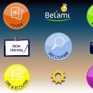 Ecran accueil BelAmi Premium